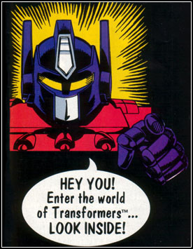Enter the new Obscure Transformers Website!